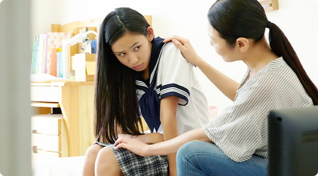 親は子どもの悩みに安易に答えを出さず、一緒に悩んであげる