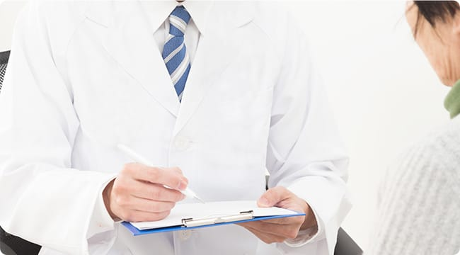 TMS治療初診のイメージ